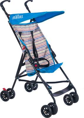 MallerBaby - Maller Baby Gio Baston Bebek Arabası Mavi