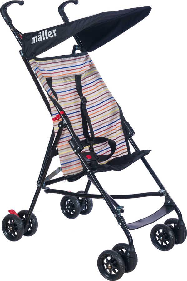 Maller Baby Gio Baston Bebek Arabası Siyah
