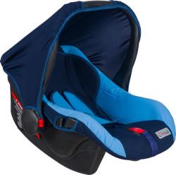 MallerBaby - Maller Baby Mia 0-13kg Taşıma Açık Mavi Koyu Mavi