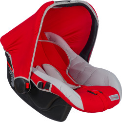 MallerBaby - Maller Baby Mia 0-13kg Taşıma Kırmızı Gri