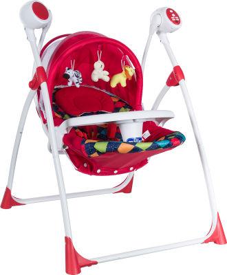 MallerBaby - Maller Baby Pino Elektronik Salıncak Kırmızı
