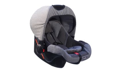 MallerBaby - Maller Baby Pola 0-13kg Taşıma Füme Gri