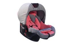 MallerBaby - Maller Baby Pola 0-13kg Taşıma Kırmızı Gri