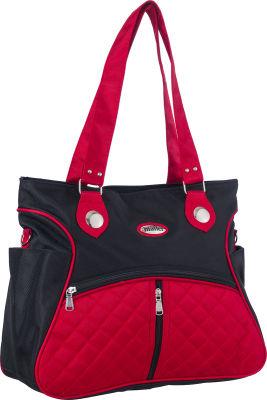 MallerBaby - Maller Baby Venüs Anne Çanta Siyah Kırmızı