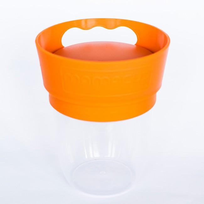 MamaCup - MamaCup Atıştırma Bardağı (Turuncu)