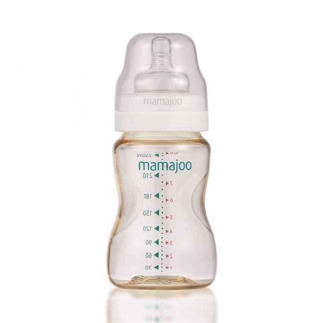 Mamajoo %0 BPA Pes Biberon 250ml - Thumbnail