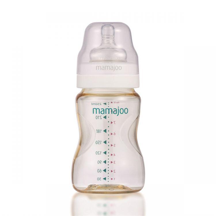 Mamajoo - Mamajoo %0 BPA Pes Biberon 250ml