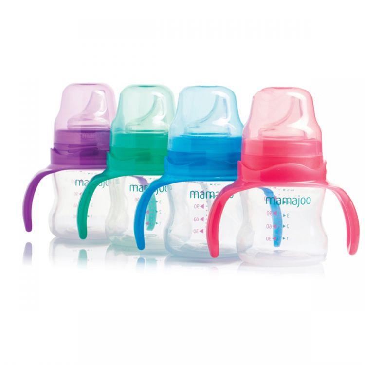 Mamajoo - Mamajoo Kulplu Eğitici Bardak 150 ml / Değişik Renkler