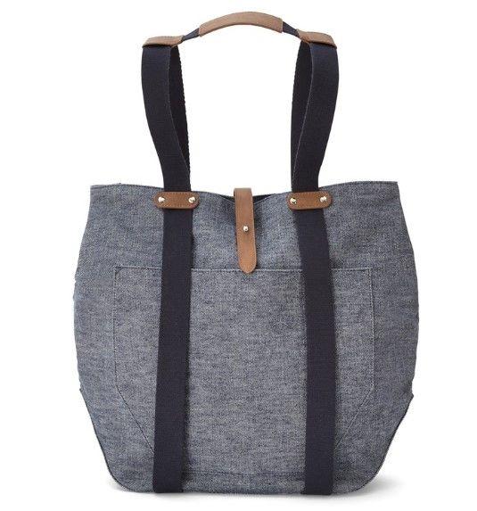 Mamas & Papas - Mamas Papas Chrissi Changing Bag Blue Denim