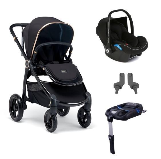 Mamas & Papas - Mamas Papas Ocarro Jewel Mobility Set Black Diamond