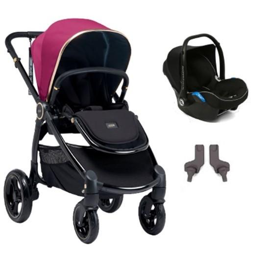 Mamas & Papas - Mamas Papas Ocarro Jewel Travel Sistem Bebek Arabası Amethyst