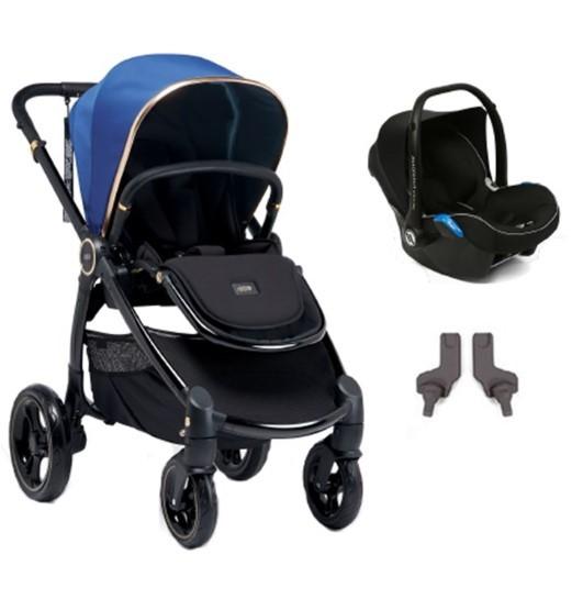 Mamas & Papas - Mamas Papas Ocarro Jewel Travel Sistem Bebek Arabası Saphire
