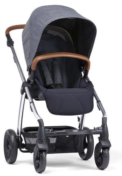 Mamas & Papas - Mamas Papas Sola 2 Chrome Bebek Arabası Navy Marl