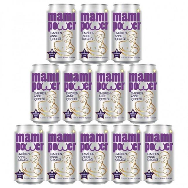 Mami Power - Mami Power Emziren Anne içeceği 330 ml 12 li paket