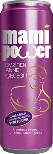 Mami Power - Mami Power Emziren Anne içeceği 330 ml Frambuaz Aromalı