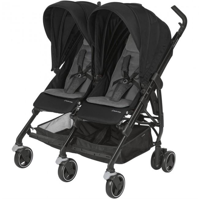 Maxi-Cosi - Maxi-Cosi Dana For2 İkiz Bebek Arabası / Nomad Black