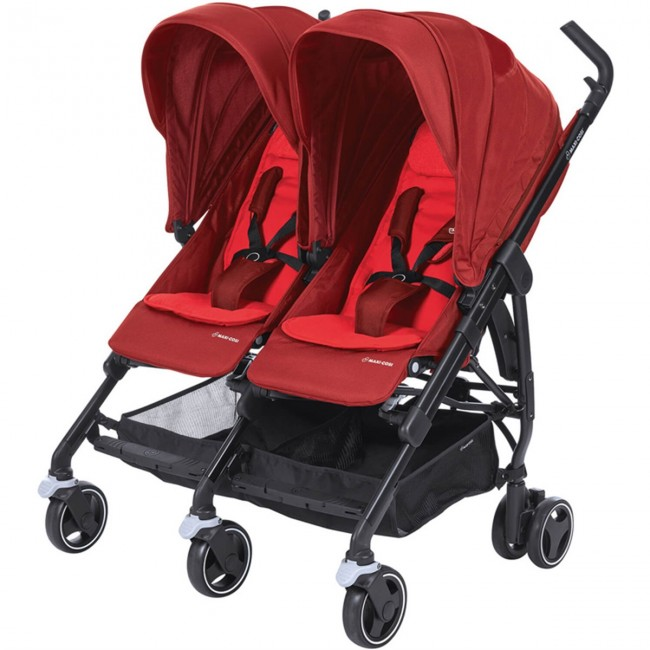 Maxi-Cosi - Maxi-Cosi Dana For2 İkiz Bebek Arabası / Vivid Red