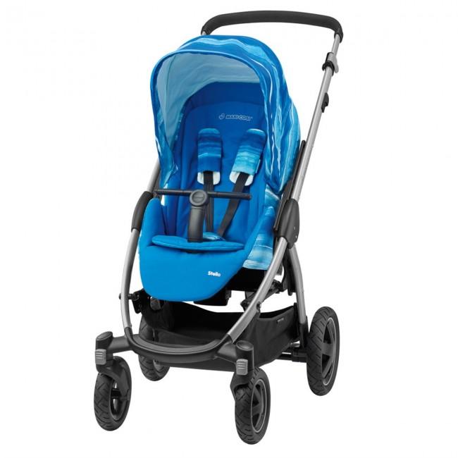 Maxi-Cosi - Maxi-Cosi Stella Bebek Arabası / Watercolour Blue