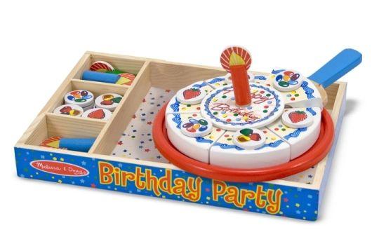 Melissa & Doug - Melissa & Doug Ahşap Doğum Günü Partisi
