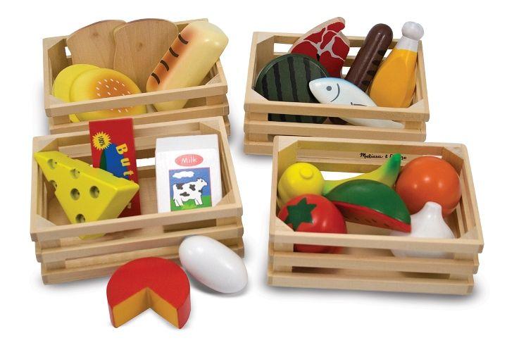 Melissa & Doug - Melissa & Doug Ahşap Gıdalarımız