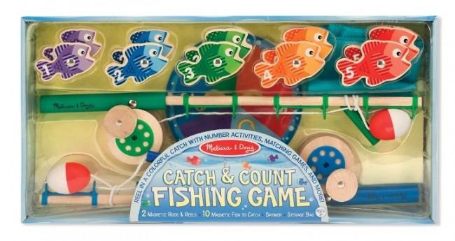 Melissa & Doug - Melissa & Doug Balık Tutma Oyunu - Yakala ve Say