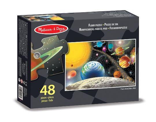 Melissa & Doug - Melissa & Doug Dev Yer Yapbozu- Güneş Sistemi (48 parça)
