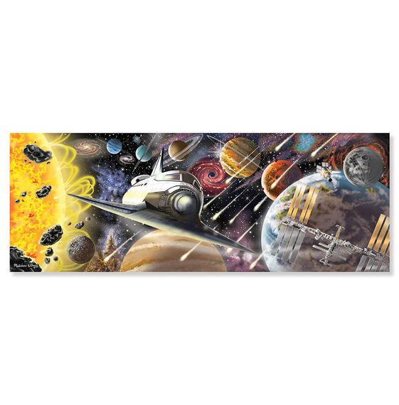 Melissa & Doug - Melissa & Doug Dev Yer Yapbozu - Uzay Keşfi (200 parça)