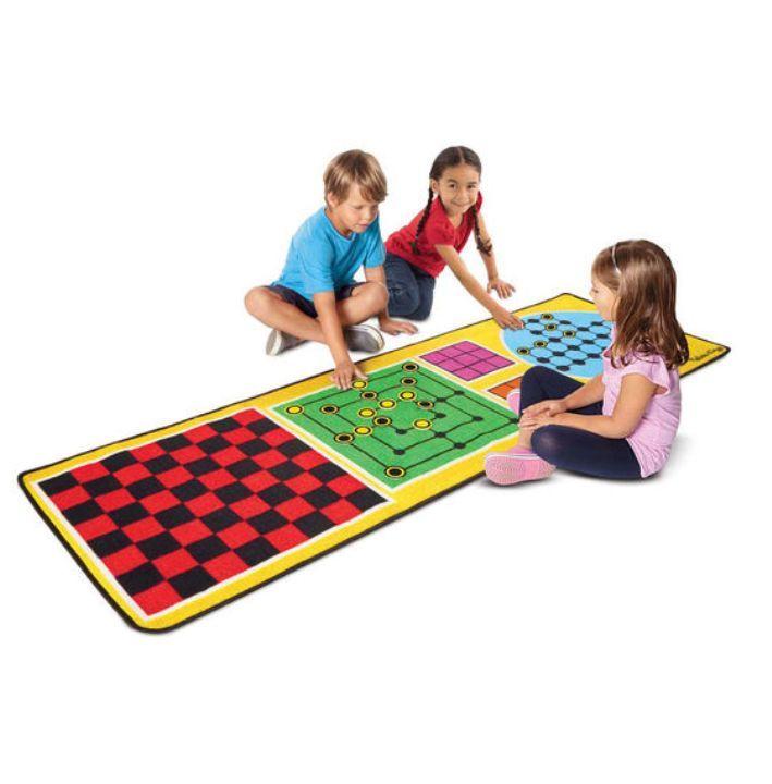 Melissa & Doug - Melissa & Doug Oyun Halı Seti - 4 x Oyun