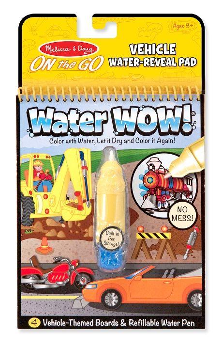 Melissa & Doug - Melissa & Doug Water Wow! Su ile Boyama Kitabı - Araçlar