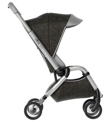 Mima Zigi Bebek Arabası Charcoal - Thumbnail