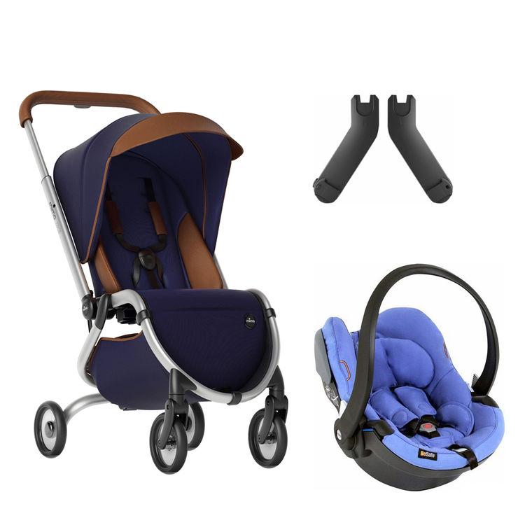 Mima - Mima Zigi Lüks Travel Sistem Bebek Arabası Gece Mavisi - Mavi