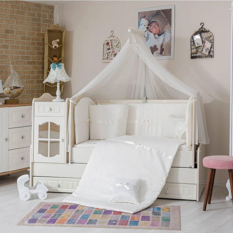 Minybaby - Mini Baby 1453 Uyku Seti Beyaz