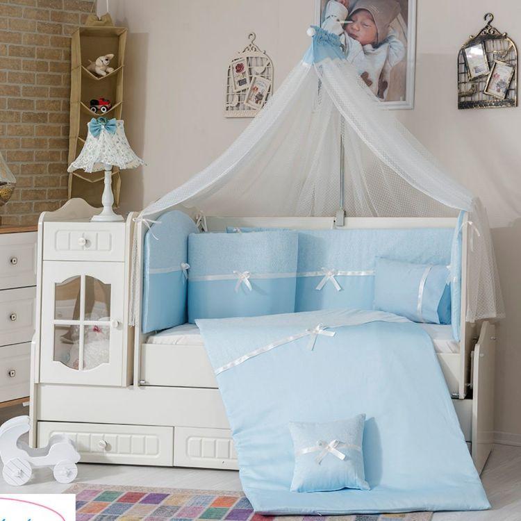 Minybaby - Mini Baby 1453 Uyku Seti Mavi