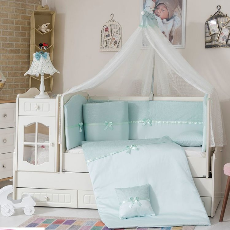 Minybaby - Mini Baby 1453 Uyku Seti Yeşil