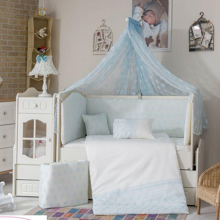Minybaby - Mini Baby Alfabe Uyku Seti Mavi