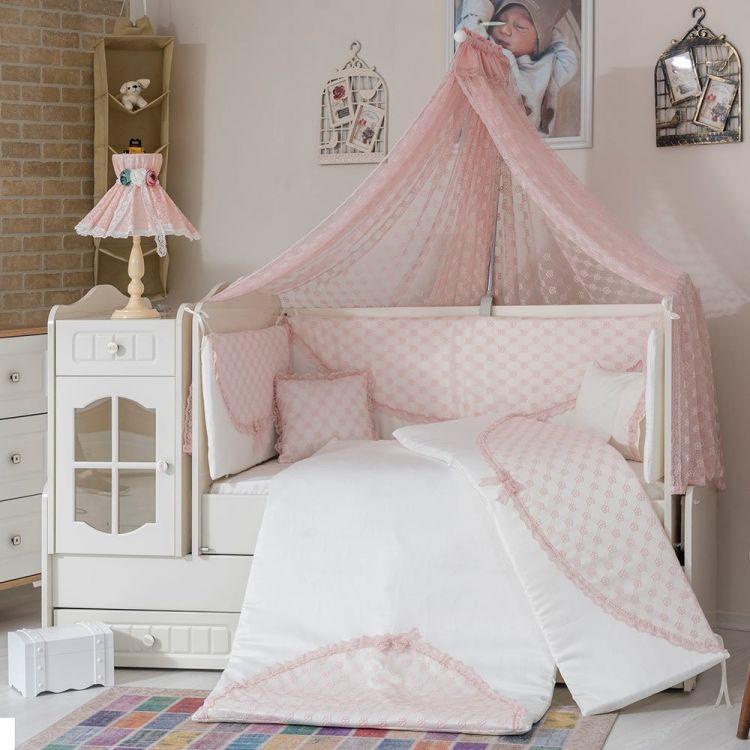 Minybaby - Mini Baby Daisy Uyku Seti Pembe