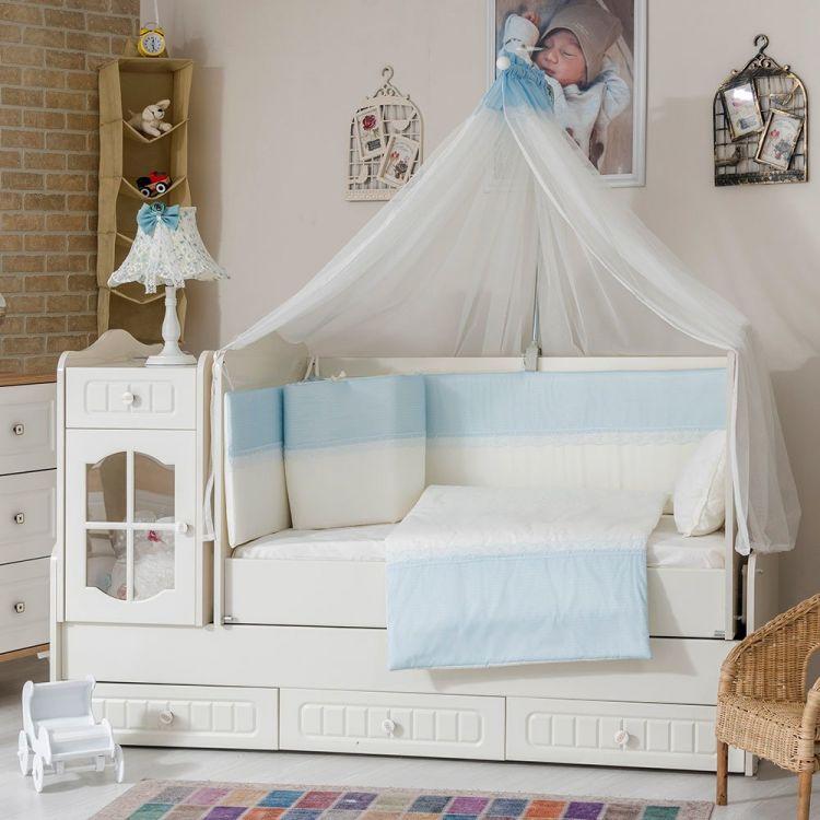 Minybaby - Mini Baby Eco Mavi Uyku Seti