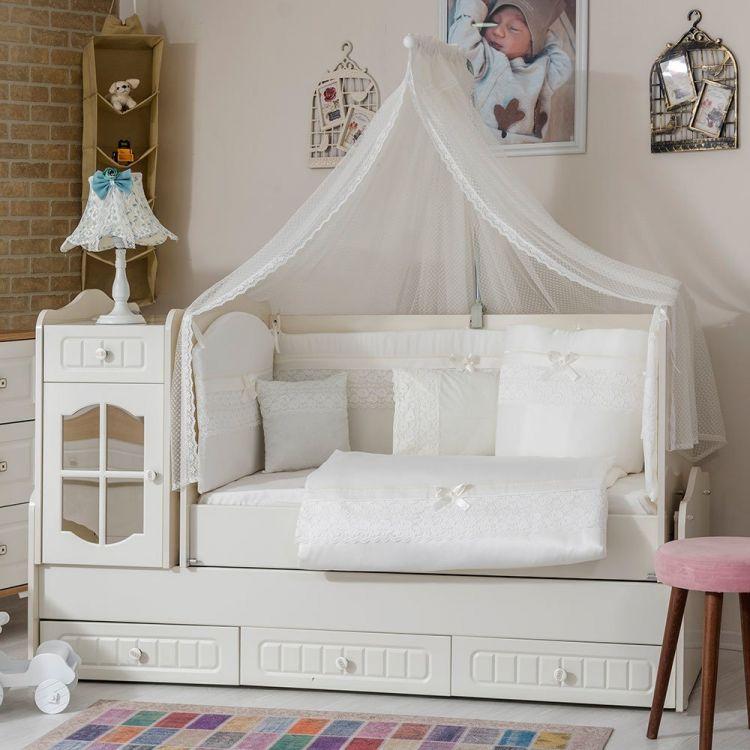 Minybaby - Mini Baby İnci Uyku Seti Beyaz