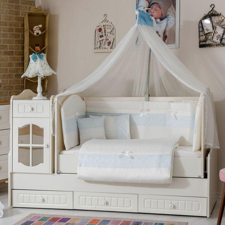 Minybaby - Mini Baby İnci Uyku Seti Mavi