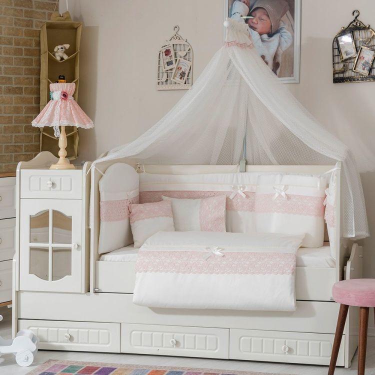 Minybaby - Mini Baby İnci Uyku Seti Pembe