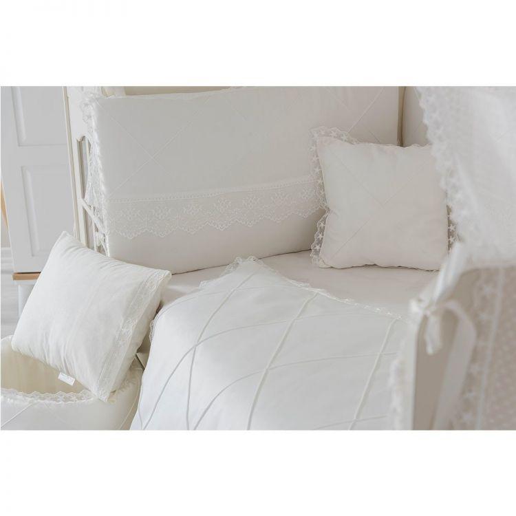 Minybaby - Mini Baby Nervür Uyku Seti Beyaz