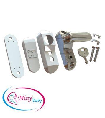 Miny Baby - Miny Baby Anahtarlı Pencere Kilidi - BEYAZ