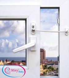 Miny Baby - Miny Baby Halatlı Pencere Kilidi - BEYAZ
