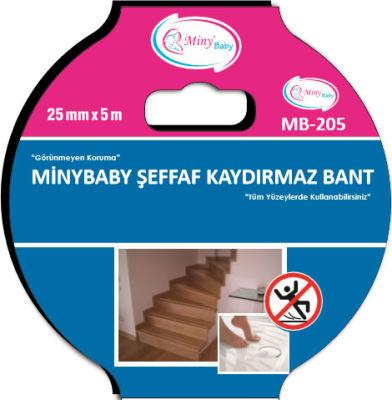 Miny Baby - Miny Baby Şeffaf Kaydırmaz Bant