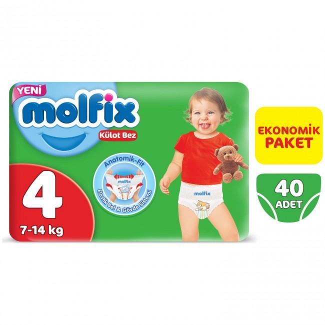 Molfix - Molfix Pants 4 Beden Maxi 40 Adet Külot Bez