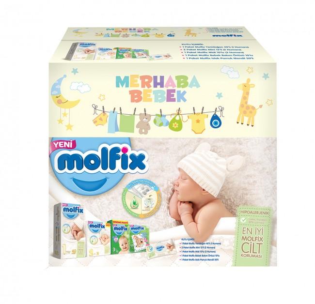 Molfix - Molfix Bebek Bezi Doğuma Hazırlık Paketi
