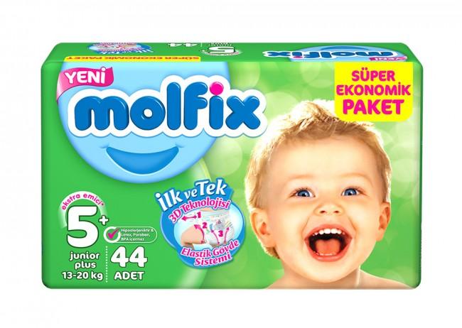 Molfix - Molfix Dev Paket No:5+ 13-20 Kg 44 lü Junior Plus