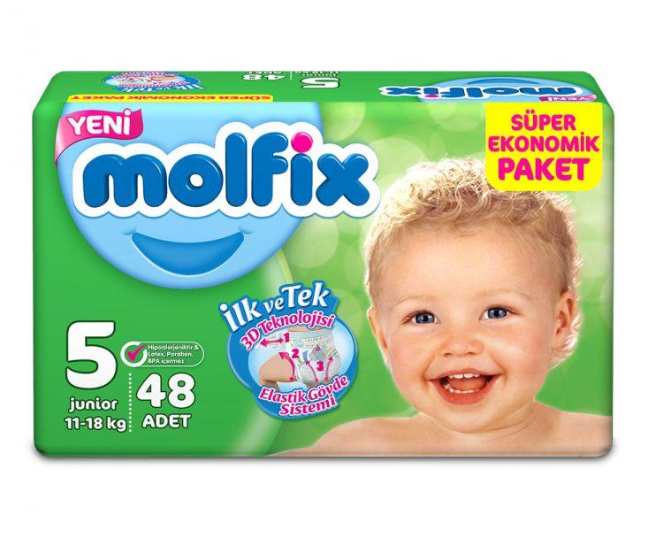 Molfix - Molfix Dev Paket No:5 11-18 Kg 48 Adet