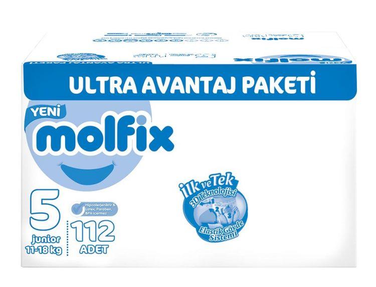 Molfix - Molfix 5 Beden 112 Adet 11-18 Kg