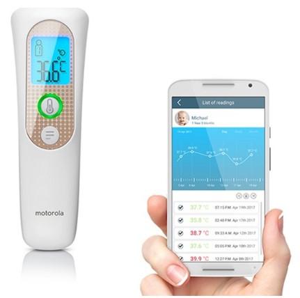 Motorola - Motorola MBP70SN Bluetooth Temassız Ateşölçer